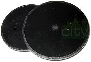 (2 Pack) Original Magellan GPS Adhesive Dashboard Mounting disk for Maestro 3100 3140 3200 3210 3220 3225 3250 4000 4010 4040 4050 4210 4215 4200 4220 4245 4250 4350 4370 4700 5310 5340 (Original Magellan disc part #702341)