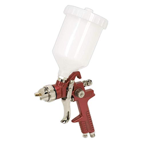 Sealey HVLP741 Gravity Feed Spray Gun Set-Up, 1.3mm