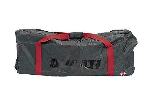 Ducati Tasche für Scooter, Zubehör für Erwachsene, Unisex, Schwarz mit roten Details, Einheitsgröße
