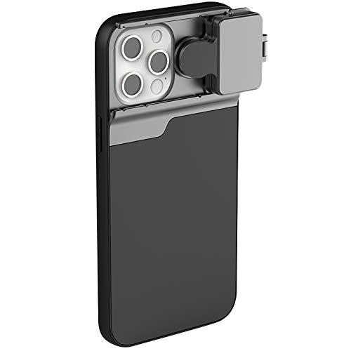 per iPhone 12 Mini 3 in 1 Lens Telefono Cassa del Telefono Filtro cpl/Macro/Fisheye / 2X Lens Lens 5 in 1 Lente telefonica per iPhone 12 PRO Max (Color : for 12 PRO Max)