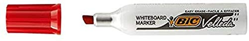 Bic 452094 whiteboard-marker Velleda medium-punt, rood