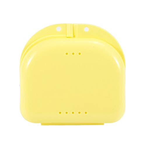 N / A Dental False Teeth Appliance Container Aufbewahrungsboxen Prothesen Bad Box Fall Makeup Organizer 21x14x8CM