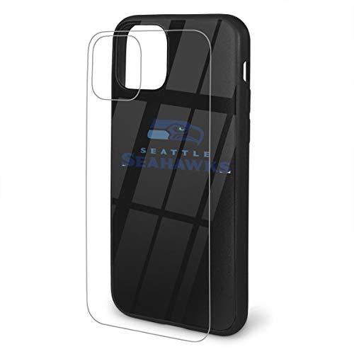 N / A Seattle Seahawks Handyhülle iPhone 11 Pc-Material Unisex Zum Schutz Der Persönlichkeit des Telefons Staubdicht