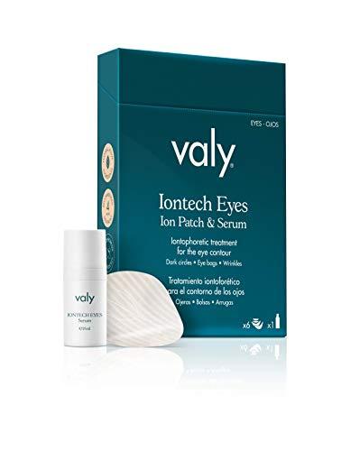 Valy Cosmetics Iontech Eyes Tratamiento mesolifitng para el contorno de los ojos 6 kits de parches 1 serum de 15ml