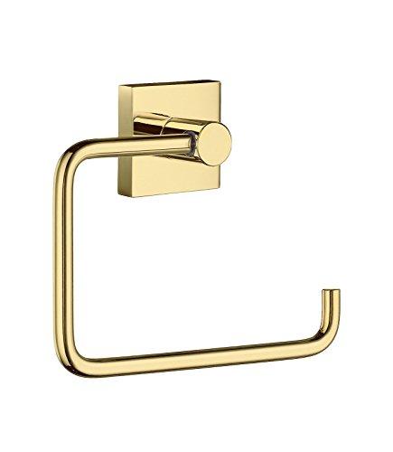 """SMEDBO """"Haus Toilettenpapierhalter ohne Deckel, Gold"""