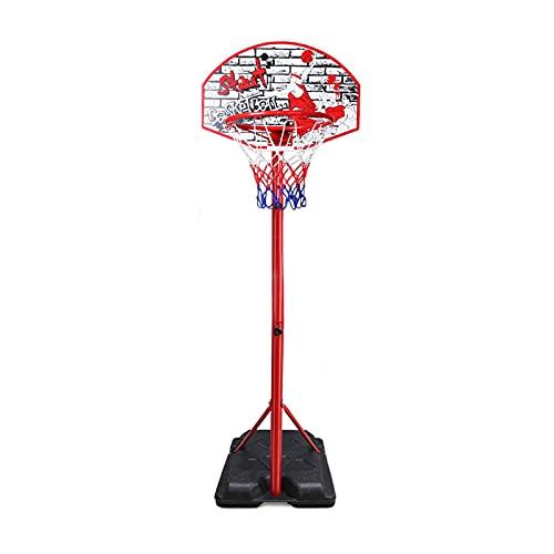 Canasta Baloncesto Aro De Baloncesto Portátil, Soportes De Baloncesto Ajustables En Altura para Interiores Y Exteriores, con Tablero Y Juego De Llantas, 3 Tamaños (Size : 270cm)
