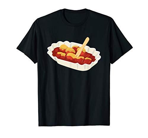 Currywurst Schweinewurst | Deutschland Fast Food Berlin T-Shirt