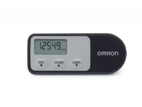 Omron Walking Style One 2.1 Pedometer - Black/G