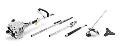 Alpina 287130150/17 Multi-Tool a Scoppio MT 26, 25.4 cc, Bianco, Set di 5 Pezzi, 119 x 44 x 35 cm