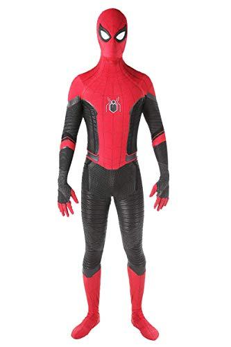 Verhero Unisex Spandex Onesie Adult 3D Zentai Suit Costume Cosplay Bodysuit M Red