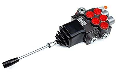 CHIEF Directional Control Valves (G Series with Joysticks): 10 GPM, SAE 10 Inlet/Outlet, 2 Spool, 3625 PSI, 1500-3625 PSI Relief Setting, SAE 8 Work Ports, 220910 from Bailey Hydraulics