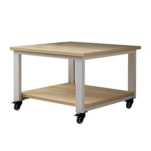 Mobile Printer Cart Easy to Move Printer Stand Super Load-Bearing Stand Printer Desk Under Desk Printer Stand with 4 Wheels for Mini 3D Printer Desk Side Printer Shelf