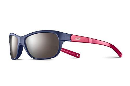 Julbo Player L - Gafas de sol para niña, morado, azul, rosa brillante, FR: XS (talla del fabricante: 6-10 años)