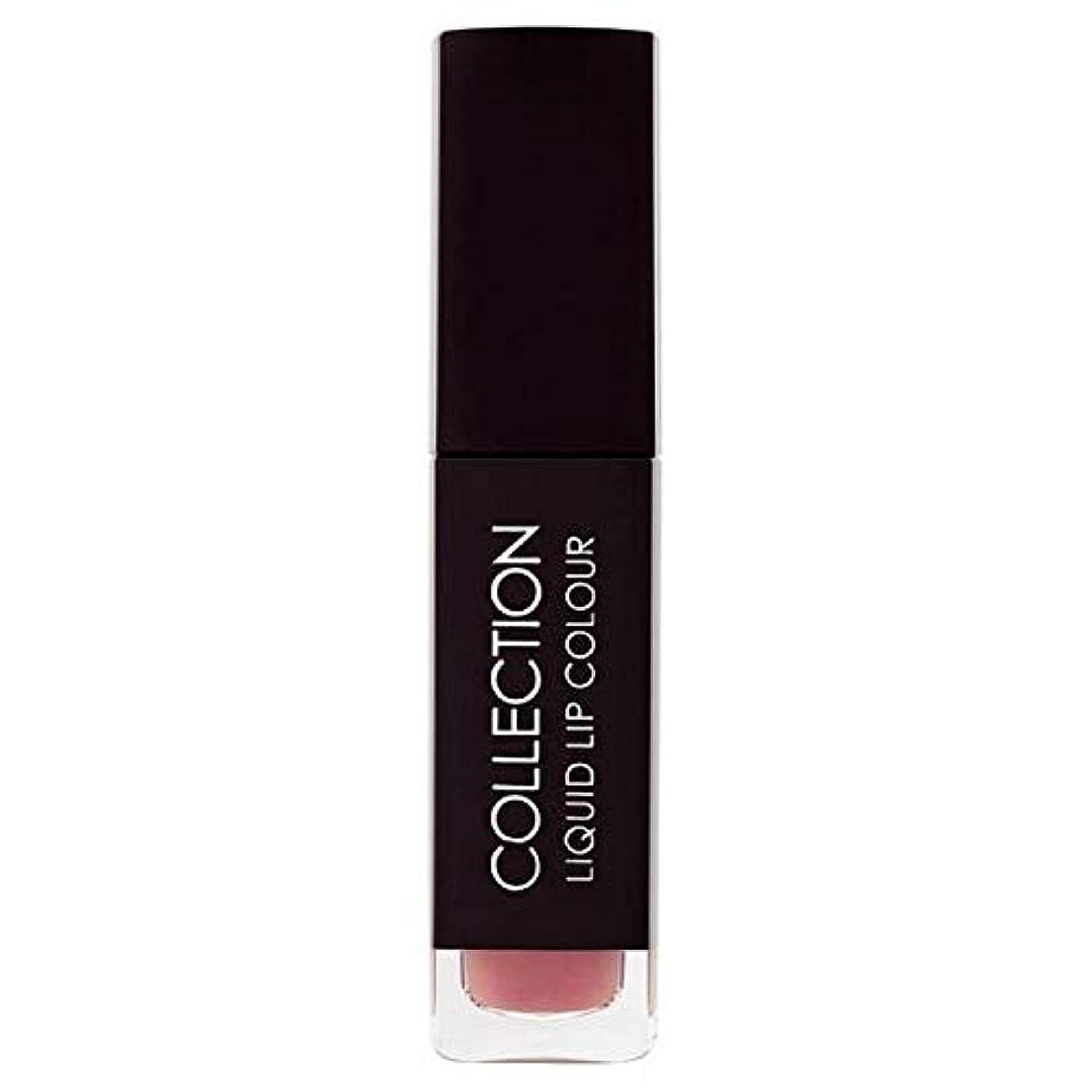 ルール定刻バラ色[Collection ] 収集液体リップカラー5ミリリットルヌードタフィー6 - Collection Liquid Lip Colour 5ml Nude Toffee 6 [並行輸入品]