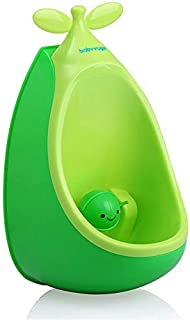 Cute Pea Boy Urinals Baby Standing Potty Toilet Training for toddlers (green)