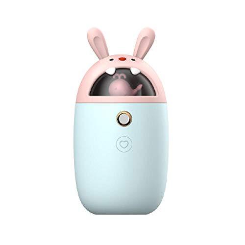 3 in 1 Multifunktions-Gesichtsbefeuchter Mobile Power Handwärmer Multifunktions-Mini-Luftbefeuchter Warme Hand Süßes Weihnachtsgeschenk - warmes Baby-Blau