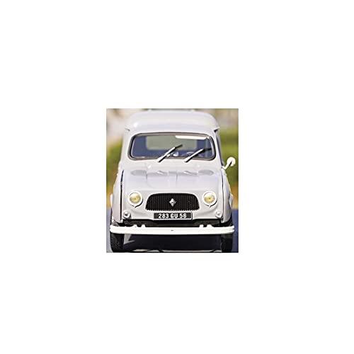 DXZJ Escala 1:18 para Norev Renault 4 Classic Vintage aleación de coche modelo de metal para regalos adultos fundidos a presión juguetes coleccionables (tamaño : B)