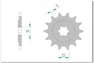 AFAM Ritzel Teilung 520 Zähne 13 für Kawasaki KX 125 K, Bj. 1996 | Maße Welle: 18/22mm