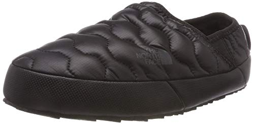 THE NORTH FACE Damen Thermoball Traction Iv Pantoletten, Schwarz (Shiny TNF Black/Beluga Grey Ywy), 40 EU