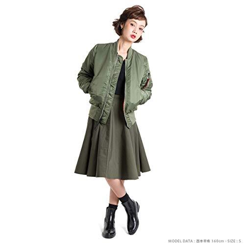 アルファインダストリーズ『MA-1タイトジャケット[ユニセックス]』