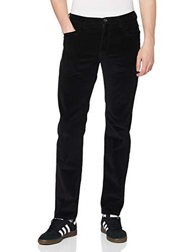 Wrangler Arizona Pants, Noir 00, 34W / 32L Homme
