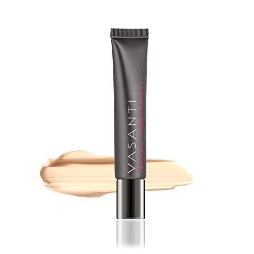 Liquid V2 - Vasanti Cosmetics Liquid Cover-Up - Foundation & Concealer in One - Paraben Free
