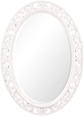 Howard Elliott Suzanne Mirror-Glossy White