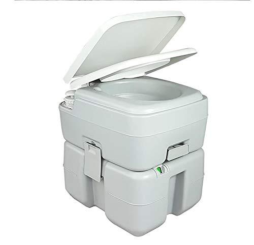 GW WC Portátil para 20L Inodoro Portátil para Camping Camping con Extraíble WC Portatil para Ancianos Niños Baño Móvil para Autocaravana