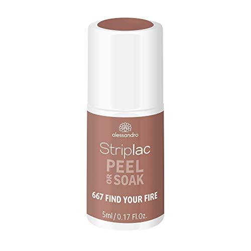 alessandro Striplac Peel or Soak - LED-Nagellack LIFE COLOURS Kollektion / FIND YOUR FIRE, 5 ml