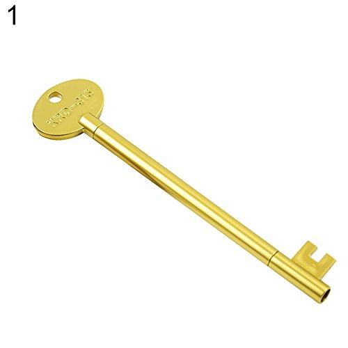 dljztrade 0,5 mm gelstiften creatieve sleutelvorm schrijfstift student geschenk school kantoormateriaal 1 #