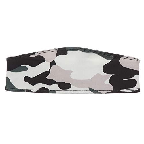 nhnhn 1/3 STKS Hoofdband Yoga Sweatband Unisex Brede Haarband Sportuitrusting Elastische Stretch Camouflage Gedrukt Met Knop Houd