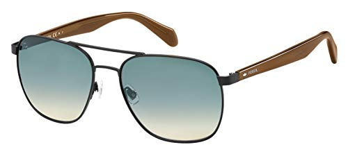 Fossil Herren Fos 2081/S Sonnenbrille, Mehrfarbig (Mtt Black), 57