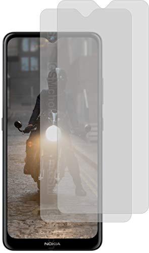 4ProTec I 2X Schutzfolie MATT passexakt für Nokia 2.4 - Displayschutzfolie Schutzhülle
