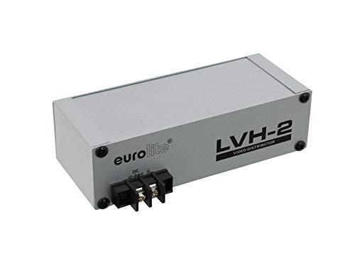 LVH-2 Video Verteilverstärker für Auto, PKW, Wohnmobil, Wohnwagen, Caravan | Aktive Verstärkung | 1 Eingang auf 4 Ausgänge