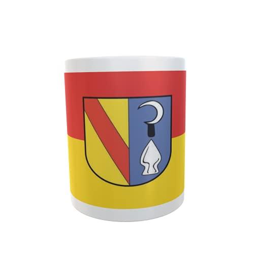 U24 Tasse Kaffeebecher Mug Cup Flagge Bahlingen am Kaiserstuhl