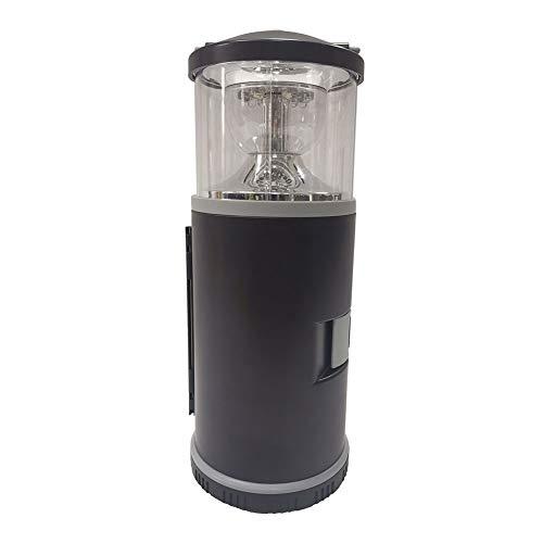 SXZG Kit de Herramientas, lámpara de Camping portátil con Caja de Herramientas, función de irradiación de luz Blanca, función de Advertencia de luz roja, para Actividades al Aire Libre, Uso doméstico