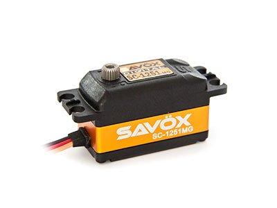 SAVOX SC-1251MG 高速・コアレス デジタルサーボ