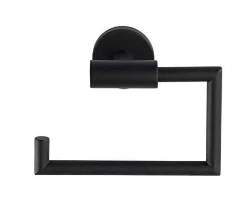 WENKO Toilettenpapierhalter Bosio Black matt ohne Deckel