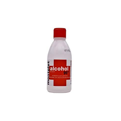 Montplet Alcohol etílico, 96 grados, 250 ml