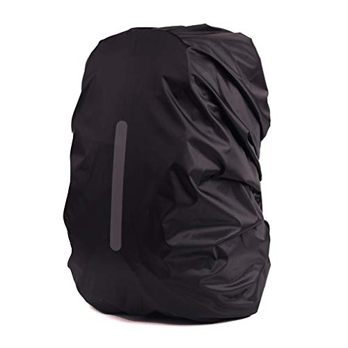 Qinghengyong Waterproof Rain Cover for Backpack, Reflective Rainproof Protector for Anti-dust and Anti-Theft Outdoor Camping Travel