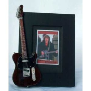 George Harrison guitarra en miniatura marco de fotos Telecaster