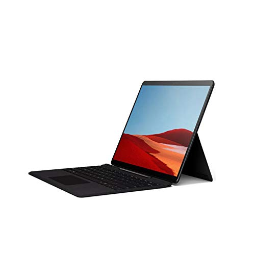 Microsoft Surface Pro X con pantalla táctil de 13 pulgadas, SQ2, Memoria RAM 8GB, y 128GB disco estado solido (Negra)