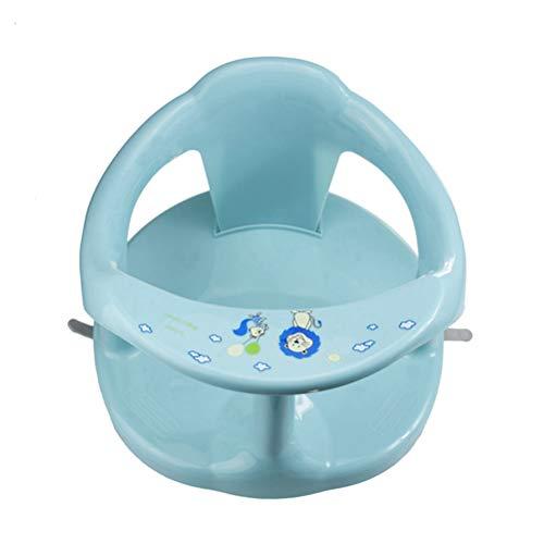Asiento de baño para bebé, asiento de silla de bebé, asiento de baño, asiento para bañera de bebé, asiento para bañera de bebé con respaldo y ventosas para mayor estabilidad