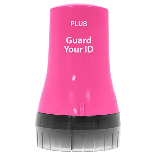 Guard Your ID Wide Advanced Roller 2.0 Identity Theft Prevention Security Stamp Pink
