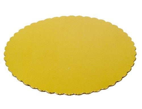 Gold Tortenscheiben Karton,32 cm