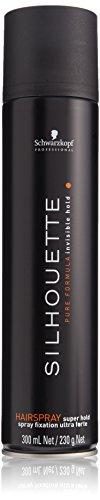 Schwarzkopf Silhouette Hairspray super hold, 3er Pack, (3x 300 ml)