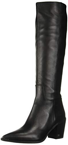 Sam Edelman Women's Lindsey Knee High Boot, Black, 7.5 Medium US