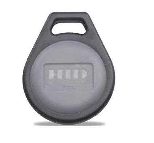 "HID Corporation 1346 ProxKey III Key Fob Proximity Access Card Keyfob, 1-1/4"" Length x 1-1/2"" Height x 15/64"" Thick (100)"