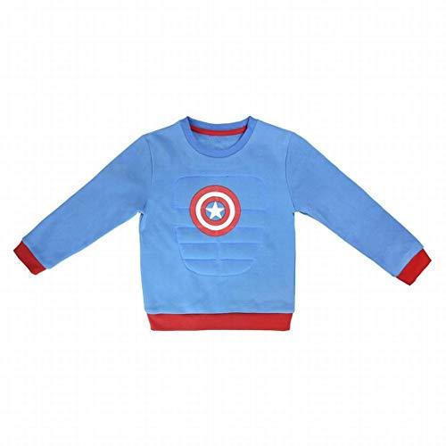 Textil y complementos avengers Sudadera de Los Vengadores Capitán América Talla 5