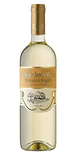 Cramele Recas | SCHWABEN WEIN Feteasca Regala – Weißwein halbtrocken aus Rumänien 0,75 L